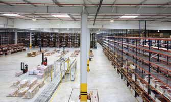 Porcelanosa Tigery icv • industrie céramique » un nouveau site logistique en france